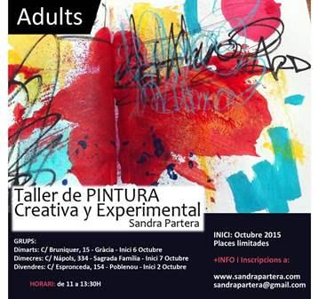 CURSO: TALLER PINTURA CREATIVA Y EXPERIMENTAL