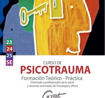 CURSO TEORICO-PRACTICO DE PSICOTRAUMA 23,24 Y 25