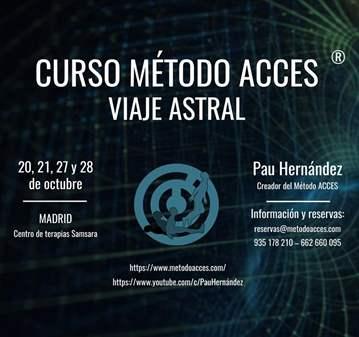CURSO VIAJE ASTRAL EN MADRID