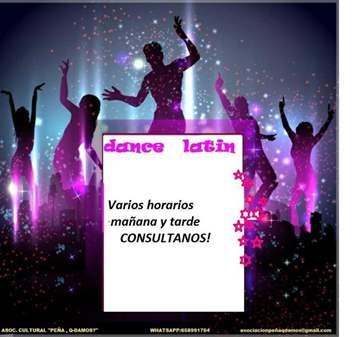 CURSO: DANCE LATÍN