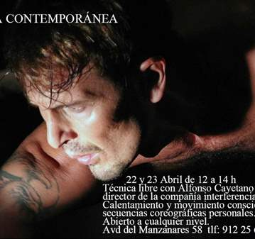 TALLER: DANZA CONTEMPORÁNEA