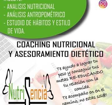 SESIÓN: DE COACHING NUTRICIONAL A MITAD DE PRECIO