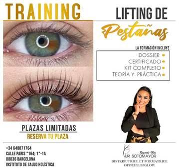 CURSO: DE LIFTING DE PESTAÑAS + LAMINACIÓN DE C...