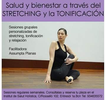 SESIÓN: DE STRETCHING,TONIFICACIÓN Y RELAJACIÓN