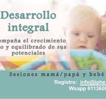 TALLER: DESARROLLO INTEGRAL PARA TU BEBÉ
