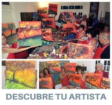 TALLER: DESCUBRE TU ARTISTA. TALLER DE PINTURA ...