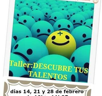 TALLER: DESCUBRE TUS TALENTOS