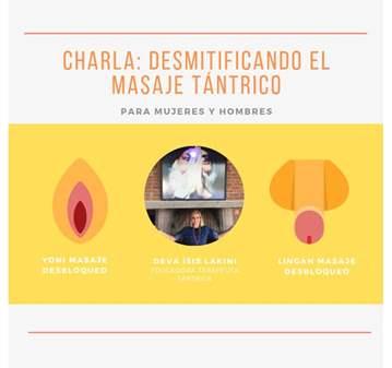 CHARLA: DESMITIFICANDO EL MASAJE TÁNTRICO