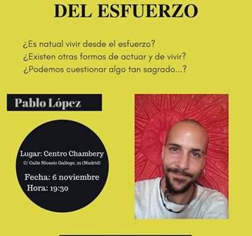 CHARLA: DESMONTANDO EL MITO DEL ESFUERZO. CHARL...