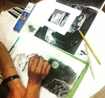 CLASE: ART CAFE' DIBUJO Y PINTURA A MENTE LIBRE