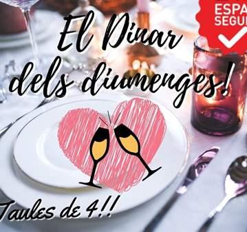 QUEDADA: EL DINAR DEL DIUMENGE (TAULES DE 4 PER...