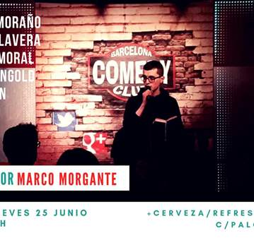 DOMINGO DE BARCELONA COMEDY CLUB