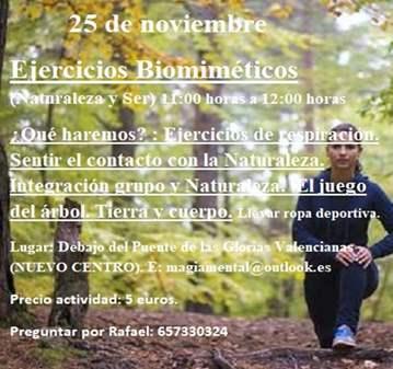 CLASE: EJERCICIOS BIOMIMÉTICOS