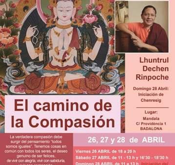 JORNADA: EL CAMINO DE LA COMPASIÓN LHUNTRUL DEC...