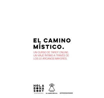CURSO: EL CAMINO MÍSTICO CURSO TAROT ONLINE