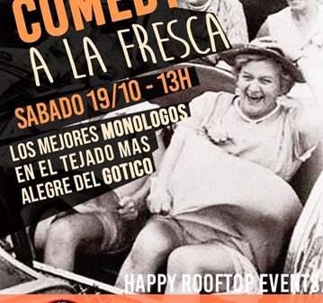 QUEDADA: EL COMEDY A LA FRESCA