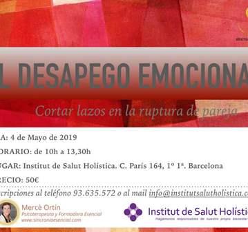 TALLER: EL DESAPEGO EMOCIONAL EN LA RUPTURA DE ...