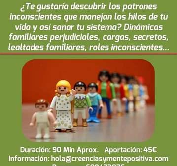 SESIÓN: CONSTELACIONES FAMILIARES PRIVADAS (PED...