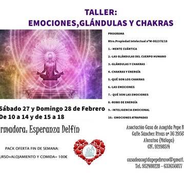 CURSO: EMOCIONES, GLÁNDULAS Y CHAKRAS