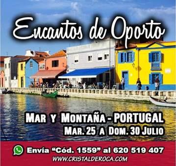 VIAJE: ENCANTOS OPORTO: CULTURA-MAR-MONTAÑA (YA...