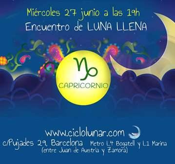 EVENTO: ENCUENTRO DE LUNA LLENA