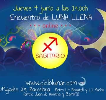 EVENTO: ENCUENTRO DE LUNA LLENA ONLINE