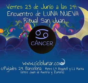 EVENTO: ENCUENTRO DE LUNA NUEVA Y RITUAL DE SAN...