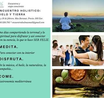 ESCAPADA: ENCUENTRO HOLÍSTICO: CIELO Y TIERRA