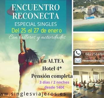 TALLER: ENCUENTRO RECONECTA  SINGLES EN ALTEA (...