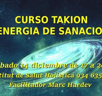 CURSO: ENERGÍA DE SANACIÓN TAKIÓN
