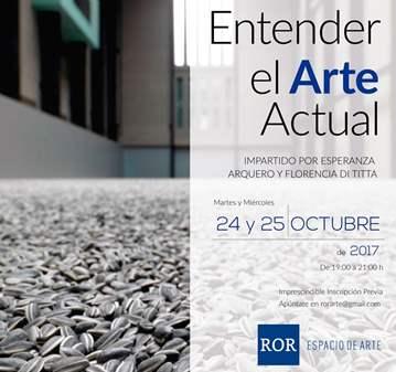 TALLER: ENTENDER EL ARTE ACTUAL