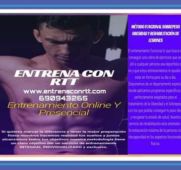ENTRENAMIENTO: ENTRENADOR PERSONAL ESPECIALIZADO