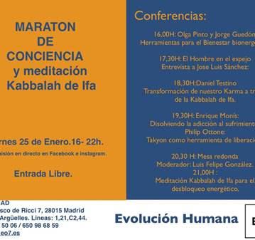 JORNADA: EO7 /MAD: MARATON DE CONCIENCIA