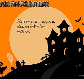 ESCAPADA CON NOCHE DE TERROR