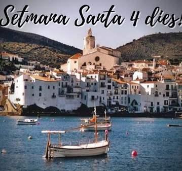 VIAJE: ESPECIAL SETMANA SANTA - L'EMPORDÀ (4 DIES)