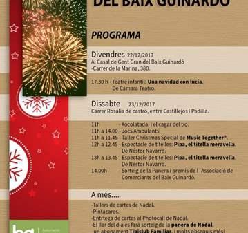 JORNADA: FESTA DE NADAL DEL BAIX GUINARDÓ