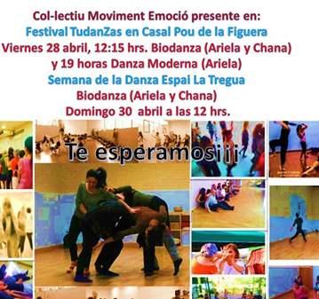 EVENTO: FESTIVAL TUDANZAS Y SEMANA DE LA DANZA