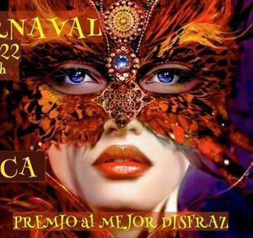 FIESTA DE CARNAVAL-REGALO MÁSCARAS (+ 45AÑOS