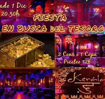 FIESTA EN BUSCA DEL TESORO- KERALA HAZ AMIGOS(+45A