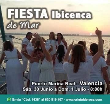 FIESTA IBICENCA MAR – PUERTO MARINA REAL VALENCIA