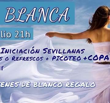 FIESTA BLANCA- SI VAS VESTID@ DE BLANCO REGALO