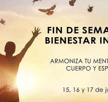 EVENTO: FIN DE SEMANA DE BIENESTAR INTEGRAL