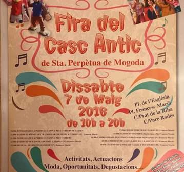 JORNADA: FIRA DEL CASC ANTIC