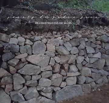 JORNADA: FORMACIÓ DE RECONSTRUCCIÓ DE MURS DE P...