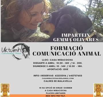 TALLER: FORMACIÓN COMUNICACIÓN ANIMAL