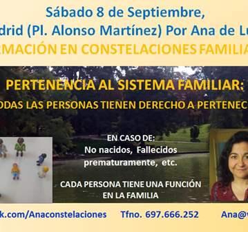 CURSO: FORMACIÓN CONSTELACIONES FAMILIARES: PER...