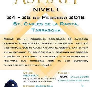 CURSO: FORMACIÓN DE ASHATI NIVEL I