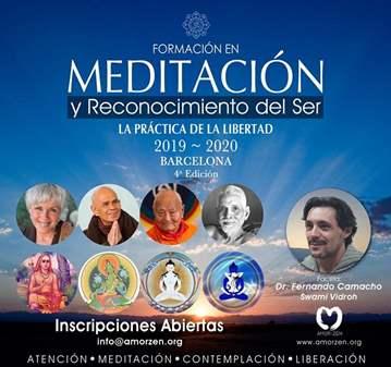 CURSO: FORMACIÓN EN MEDITACIÓN Y RECONOCIMIENTO...