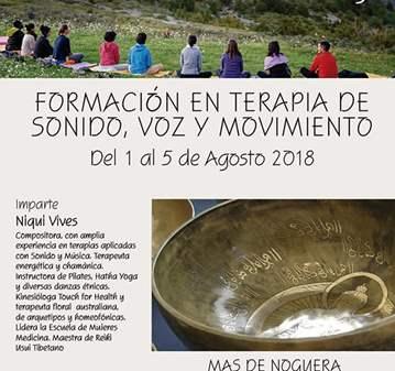 CURSO: FORMACIÓN EN TERAPIA DE SONIDO VOZ Y MOV...