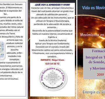 CURSO: FORMACIÓN TERAPIA DE SONIDO VOX Y MOVIMI...